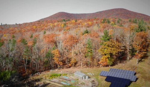 Autumn mtn from drone0