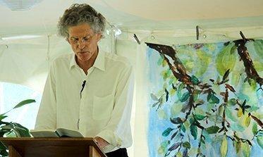 David Hinton reading at BPF 373x222
