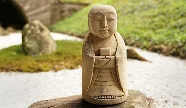 Zen garden jizo for homepage callout